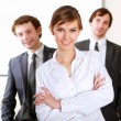 Team of businessmen - Stock Photo