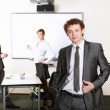 Young business man in office — Stock Photo #4880109