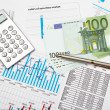 Financial charts and graphs — Stock Photo #4895546