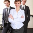 A team of businessmen — Stock Photo #4895573