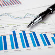Financial charts and graphs — Stock Photo #4899667