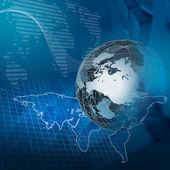 Tecnologia global — Fotografia Stock