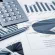 Financial charts and graphs — Stock Photo #4939208