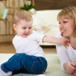 Little boy and his mother — Stock Photo #4944712