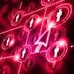 Model of social network — Stock Photo #4944958