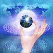 Global technology illustration — Stock Photo #4953001