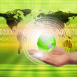 Global technology illustration — Stock Photo #4953025