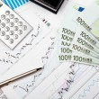 Financial charts and graphs — Stock Photo #4983672