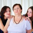 Three generations of women together — Stock Photo #4989969