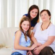 Three generations of women together — Stock Photo #4990019