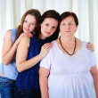 Three generations of women together — Stock Photo #4990041