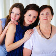 Three generations of women together — Stock Photo #4990113