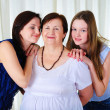 Three generations of women together — Stock Photo #4990158