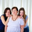Three generations of women together — Stock Photo #5078665