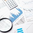Financial charts and graphs — Stock Photo #5100968