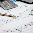 Financial charts and graphs — Stock Photo #5101051