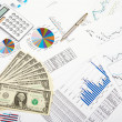 Financial charts and graphs — Stock Photo #5154795