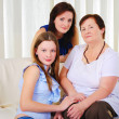 Three generations of women together — Stock Photo #5154843