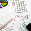 Financial charts and graphs — Stock Photo #5154920