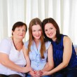 Three generations of women together — Stock Photo #5154946