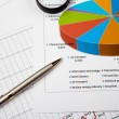 Financial charts and graphs — Stock Photo #5157185