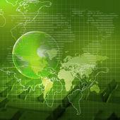Global technology — Stock Photo