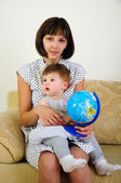 Mother and daughter having fun together — Stock Photo