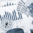 Financial charts and graphs — Stock Photo #5163498