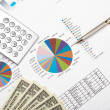 Financial charts and graphs — Stock Photo #5167368