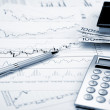 Financial charts and graphs — Stock Photo #5170494