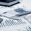 Financial charts and graphs — Stock Photo #5173620