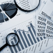 Financial charts and graphs — Stock Photo #5173837