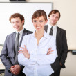 A team of businessmen — Stock Photo