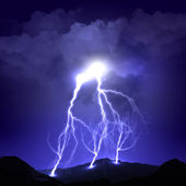 Image of lightning — Stock Photo