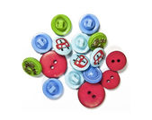Colored buttons — Foto Stock