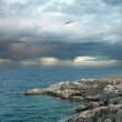 Storm clouds over the sea. — Stock Photo #3330044