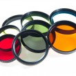Multicolored  filters — Stock Photo