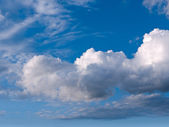 Niebo i chmury — Zdjęcie stockowe