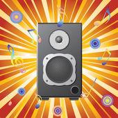 Musik-equipment. — Stockvektor