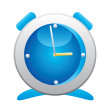 Stock Vector: Alarm clock.