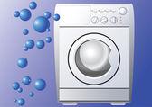 Washing machine. — Stock Vector
