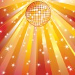 Stock Vector: Disco ball.