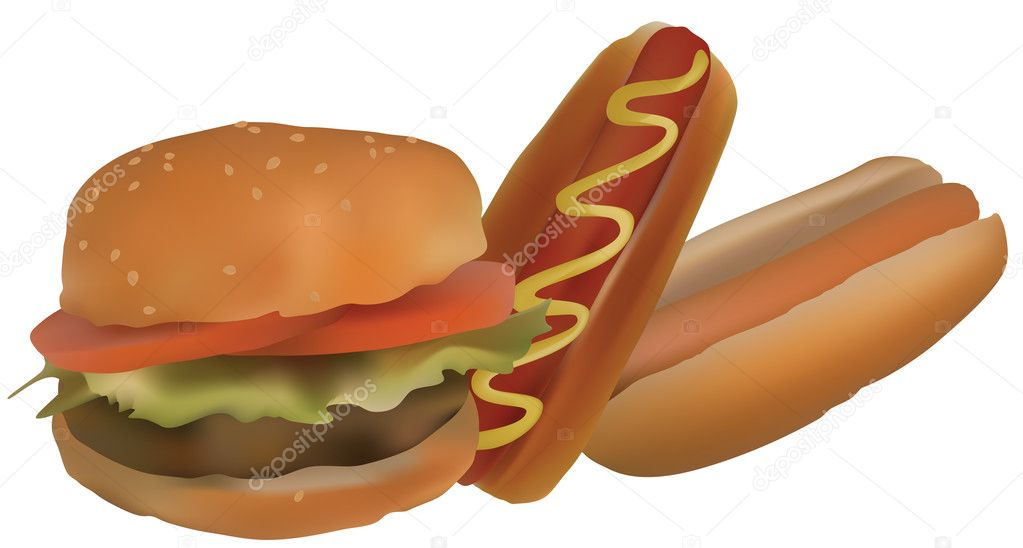 hamburgers and hot dogs stock vector  u00a9 vikhr15 3400174 cookout clip art pic cookout clipart cartoon
