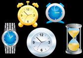 Clock. — Stock Vector