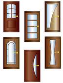 Doors. — Stock Vector