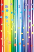 虹の抽象的な背景. — ストックベクタ