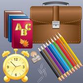 School supplies. — Stock Vector