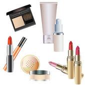 Cosmetics. — Stock Vector