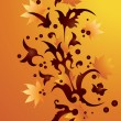 Abstract autumn background. — Vector de stock #3915827
