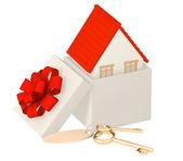 House - gift — Stock Photo